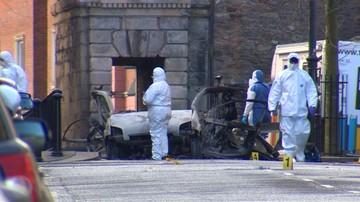 """Zatrzymano dwóch podejrzanych ws. eksplozji w Irlandii Północnej. """"To Nowa IRA"""""""