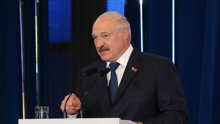 """Łukaszenka: Zachód """"absolutnie"""" nie pomógł Białorusi w walce z COVID-19"""