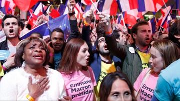 """""""Trzęsienie ziemi"""", """"skok w przepaść"""". Francuskie media komentują wyniki"""