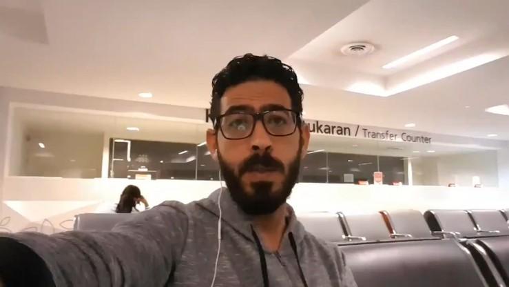 Utknął na lotnisku w Malezji. Grozi mu, że spędzi tam pięć lat