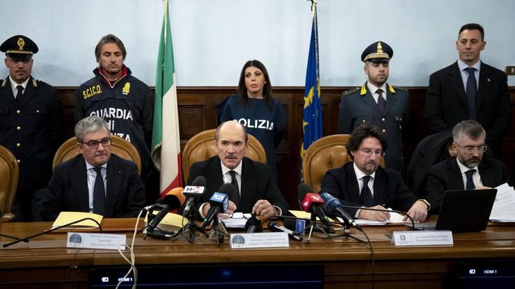 W największej w historii policyjnej akcji aresztowano ponad 90 członków włoskiej mafii