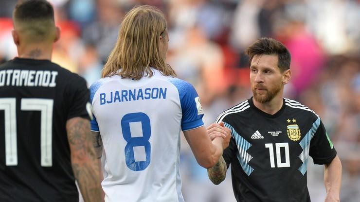 MŚ 2018: Islandia pod wrażeniem gestu Messiego