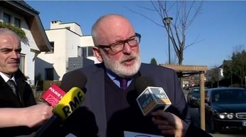 Szef MSZ: Timmermans spotka się z Morawieckim, Przyłębską i Gersdorf