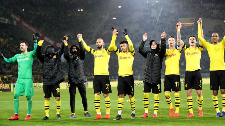 Borussia Dortmund liderem, Bayernu nie stać na potknięcie