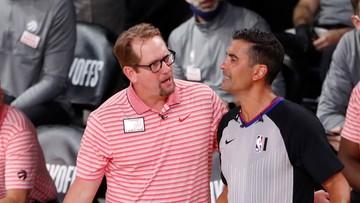 NBA: Trener Nick Nurse z nową wieloletnią umową z Toronto Raptors