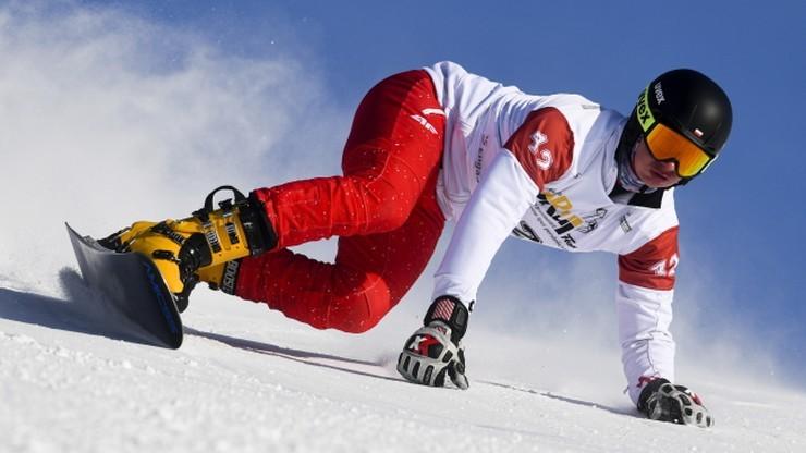 Michał Nowaczyk i Aleksandra Król na podium w Pucharze Europy w snowboardzie