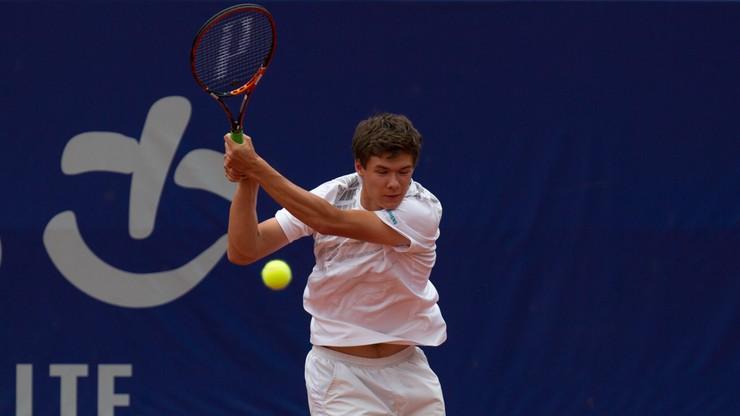 ATP w Antwerpii: Awans Majchrzaka
