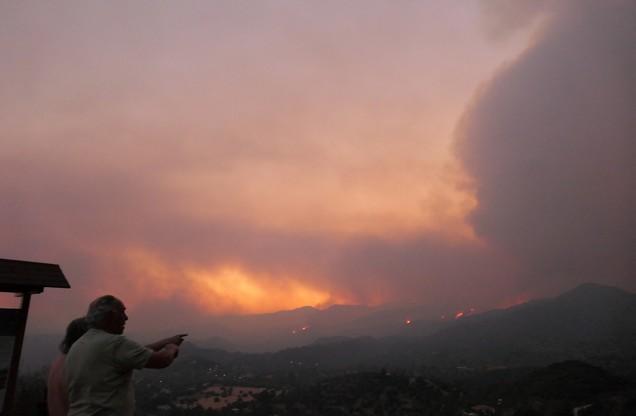 Pożary w regionie Larnaca