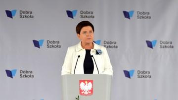 Szydło: polska szkoła będzie nowoczesna, ale będzie też czerpała z tradycji