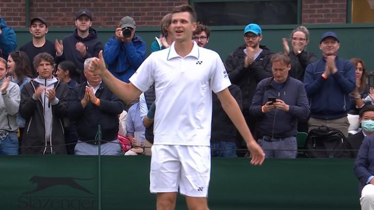 Wimbledon: Hubert Hurkacz w 2. rundzie! Musetti pokonany w trzech setach