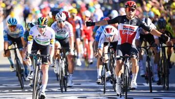 Tour de France: Caleb Ewan wygrał trzeci etap, Julian Alaphilippe liderem