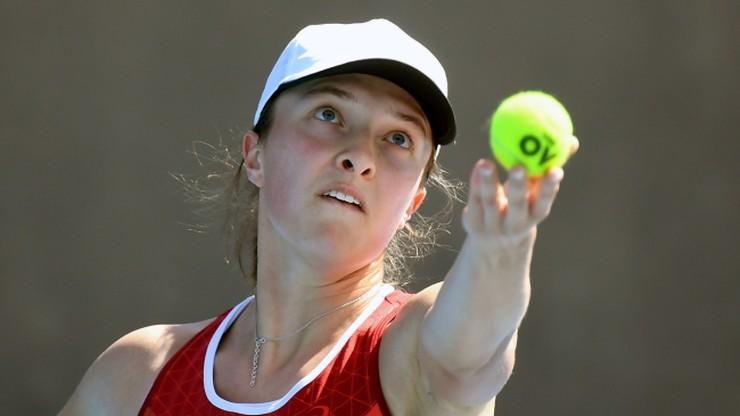 Turniej WTA w Adelajdzie: Iga Świątek poznała rywalkę w pierwszej rundzie