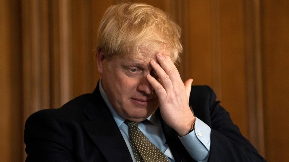 Premier Wielkiej Brytanii Boris Johnson
