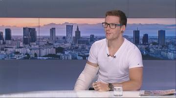"""Stracił nogę, złamał rękę. Uczestnik """"Ninja Warrior Polska"""" będzie potrzebował trzech protez"""