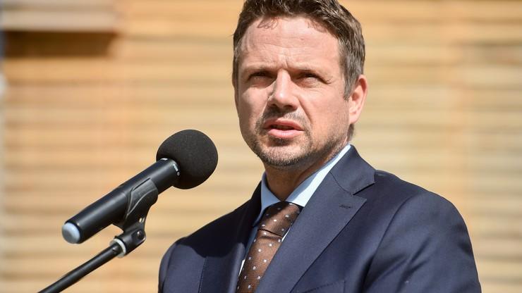 Trzaskowski: w stolicy odbędą się w weekend mniejsze zgromadzenia
