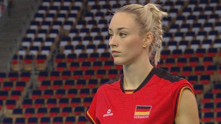 Piękna i niebezpieczna! Kim jest największa gwiazda niemieckiej kadry siatkarek?