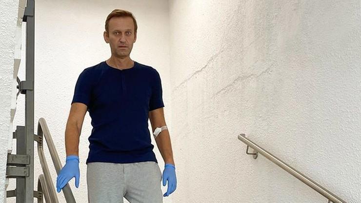 """Nawalny podziękował lekarzom. """"Od razu postawili diagnozę otrucia"""""""