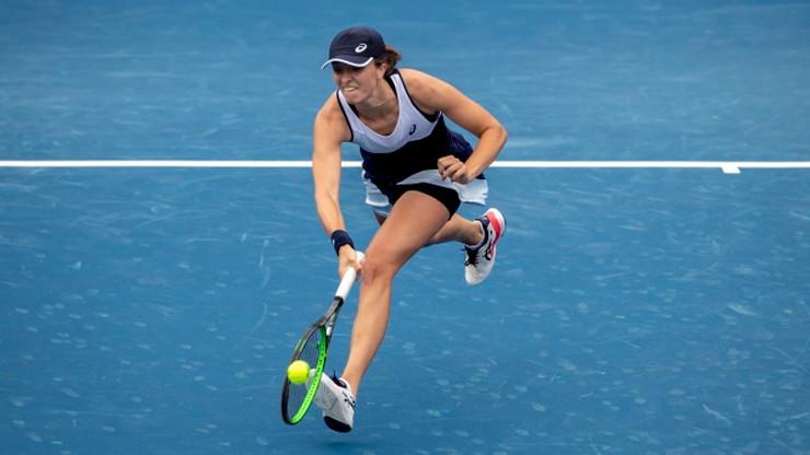 WTA w Nowym Jorku: Iga Świątek wygrywa. Polka w półfinale debla