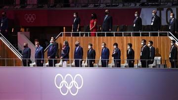 Tokio 2020: Cesarz Naruhito otworzył igrzyska