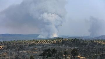 """Ponad 500 strażaków walczy z ogromnym pożarem w Katalonii. """"Sytuacja wymyka nam się spod kontroli"""""""