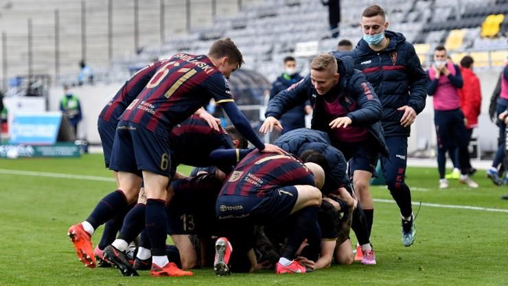 PKO Ekstraklasa: Pogoń Szczecin pokonała Wisłę Płock