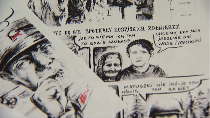 Rysunki w celi. Skazaniec stworzył komiks o Obławie Augustowskiej