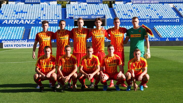 Liga Młodzieżowa UEFA: Minimalna porażka Korony Kielce z mistrzem Hiszpanii
