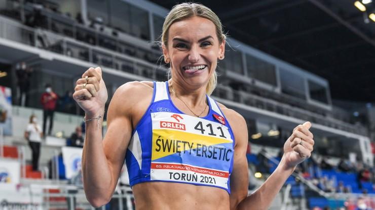 Justyna Święty-Ersetic mistrzynią Polski na 400 m. Kornelia Lesiewicz z rekordem juniorek