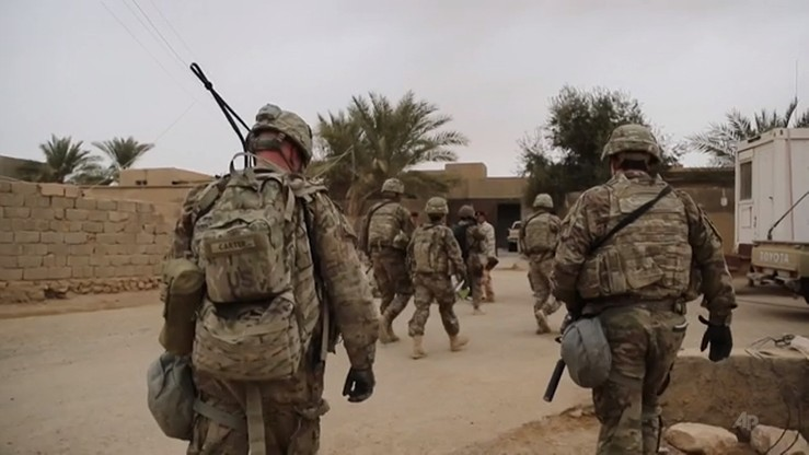 AP: Stany Zjednoczone zmniejszają liczbę swych żołnierzy w Iraku
