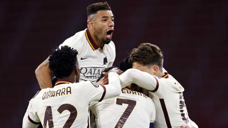 Liga Europy: AS Roma - Ajax Amsterdam. Relacja na żywo