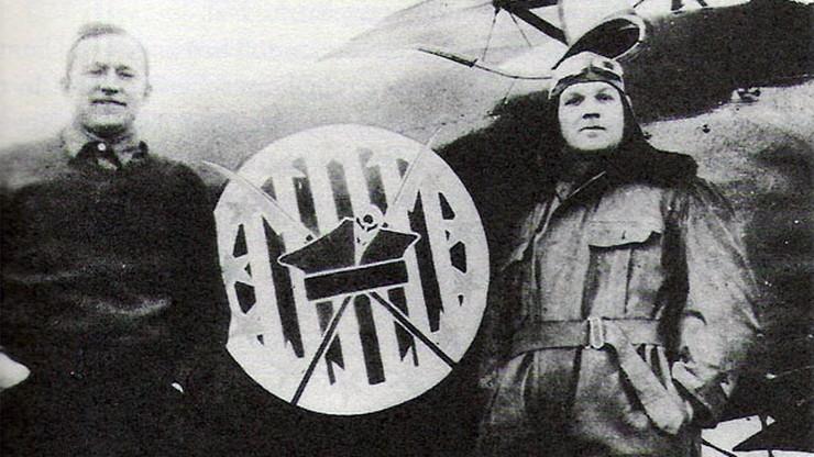 Copper, Fauntleroy oraz charakterystyczny znak Eskadry Kościuszkowskiej