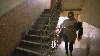 Niepełnosprawność córki i strome stopnie schodów