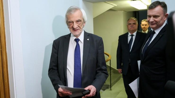 Terlecki: opozycja odmawia pracy nad zmianami w Regulaminie Sejmu