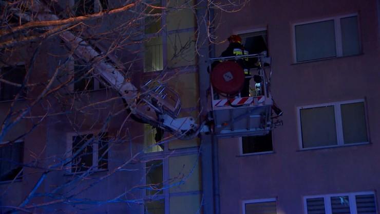 Akcja strażaków na warszawskim Bemowie