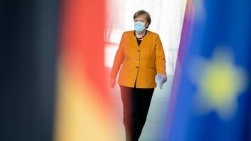 Merkel: pokonamy tę pandemię, już widać światełko w tunelu