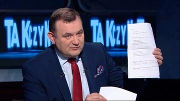 """""""Oświadczenie Mariusza Kamińskiego powinno skontrolować CBA"""" - Gawłowski w """"Tak czy Nie"""""""