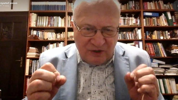 Koronawirus u polityków. Prof. Simon: zaprzysiężenie rządu nie powinno się odbyć