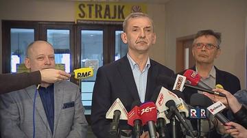 """Szef ZNP: weźmiemy udział w """"okrągłym stole"""", ale jego data jest """"ucieczką do przodu"""""""