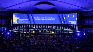Debata kandydatów na szefa KE. Timmermans o powrocie granic w Europie Środkowo-Wschodniej