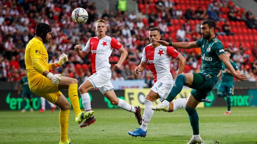 Liga Europy: Legia Warszawa - Slavia Praga. Relacja na żywo