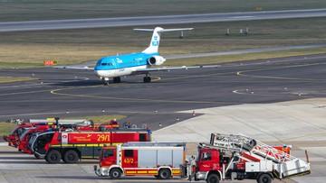 Jedna osoba raniona nożem na lotnisku