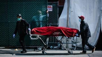Największy dobowy przyrost ofiar koronawirusa w Nowym Jorku. Prawie 800 osób zmarło
