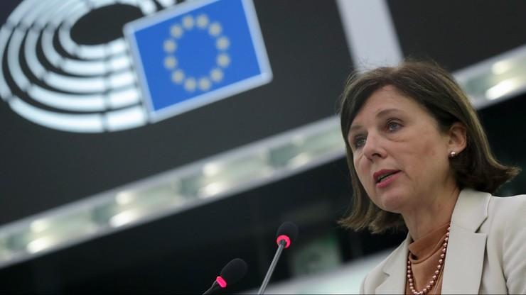 Viera Jourova: jeśli ustawa medialna zostanie przyjęta w Polsce, ocenimy jej zgodność z prawem UE