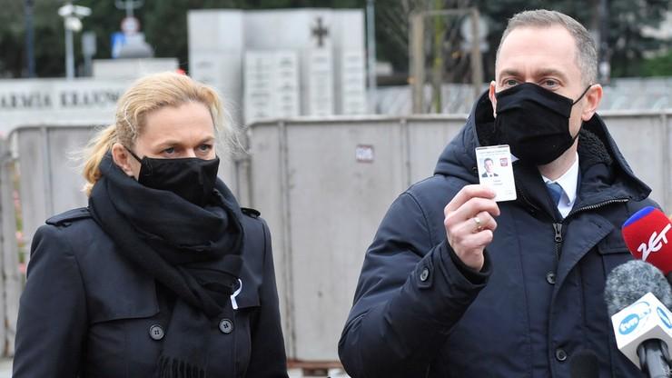"""Użycie gazu wobec posłanki KO. """"Złożymy wniosek do marszałek Witek o wyjaśnienie"""""""