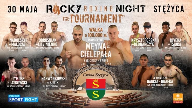 Rocky Boxing Night: The Tournament. Transmisja TV i stream online