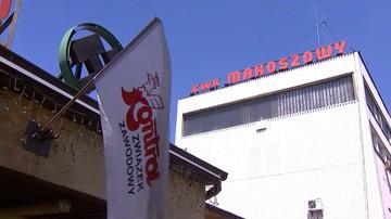 Górnicy zablokowali punkty informacyjne w kopalni Makoszowy. Dziś mają zdecydować o formie protestu