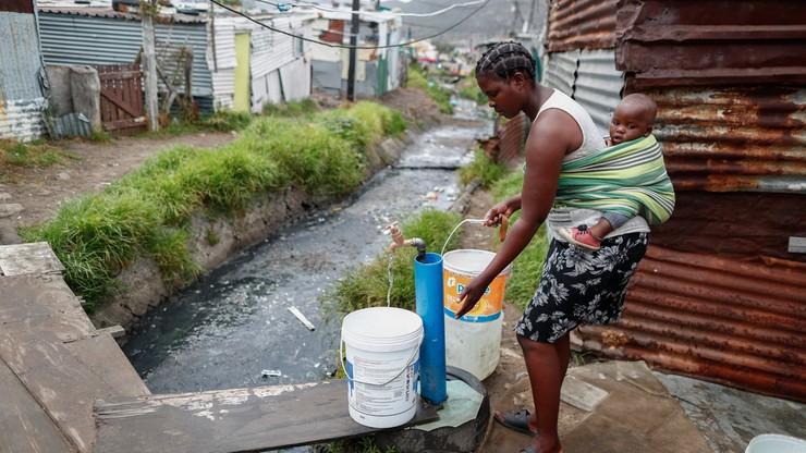 Susza w Republice Południowej Afryki. W stolicy może zabraknąć wody w kranach