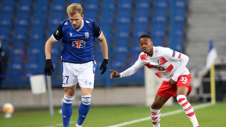 Tymoteusz Puchacz po meczu Lech Poznań - Standard Liege: Jestem zadowolony z tego, jak gramy w piłkę