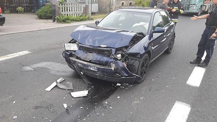 Spowodował kolizję jadąc na... egzamin na prawo jazdy
