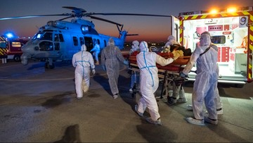 Łącznie 4,5 tys. ofiar koronawirusa we Francji. Podano dobowy bilans